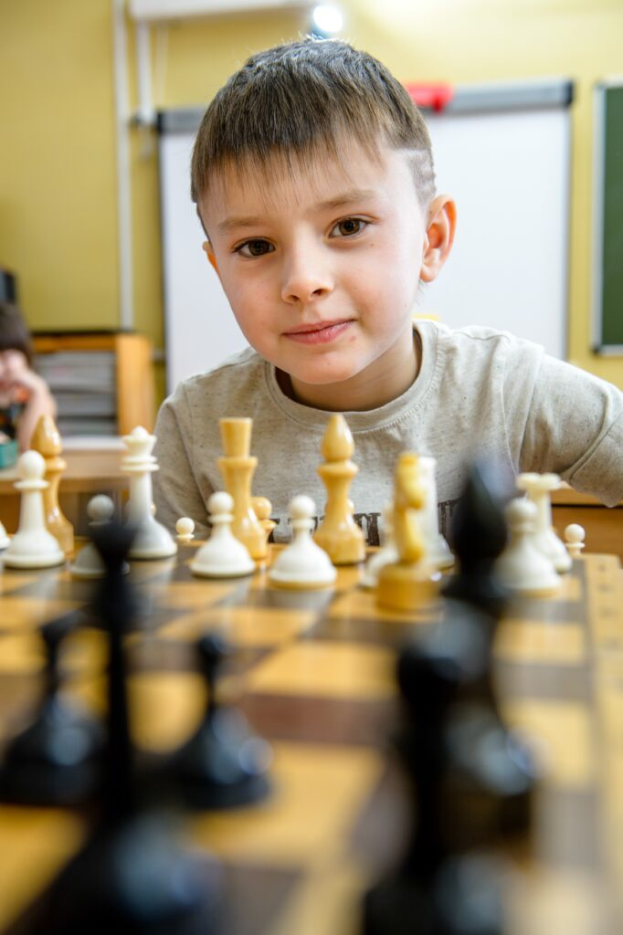 Галерея фотографий. Шахматный турнир в детском саду.Портрет из выпускного альбома детский сад