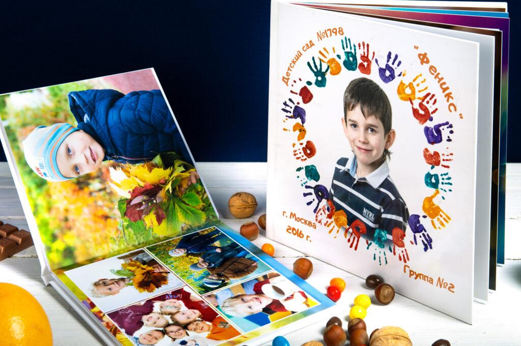 Выпускной альбом для детского сада или школы. detimiru - ваш лучший выбор
