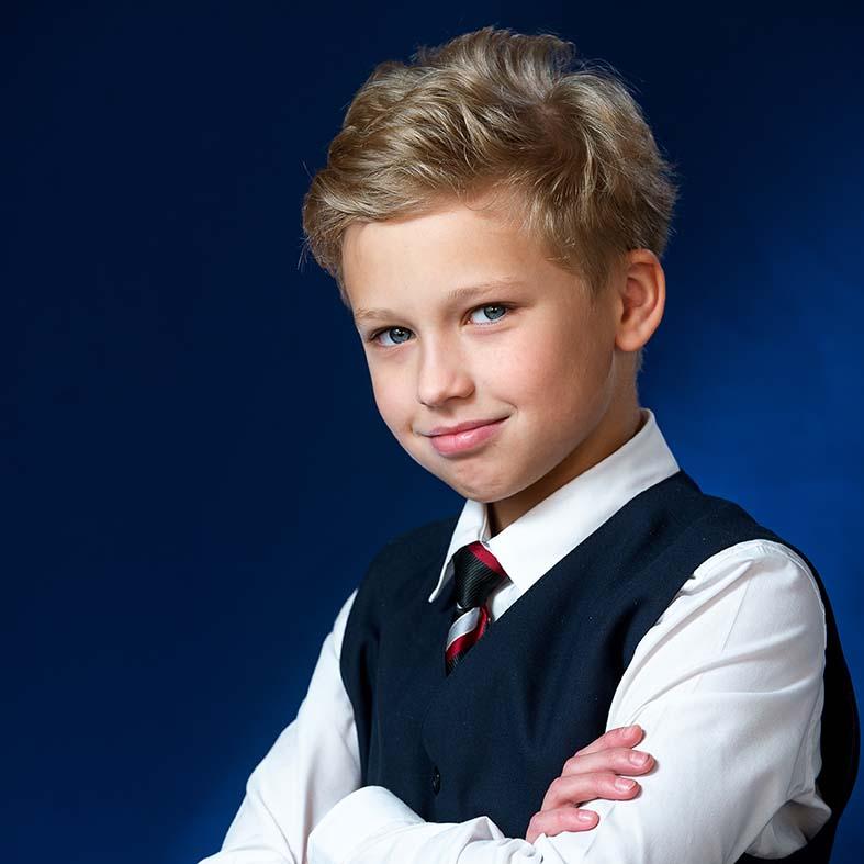 Портрет школьника четвертый класс.
